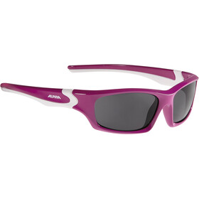 Alpina Flexxy Teen Glasses Kids berry-white